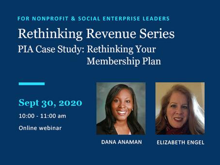 September 30 Webinar: Rethinking Revenue #3