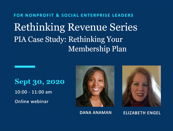 Rethinking Revenue Series for nonprofits