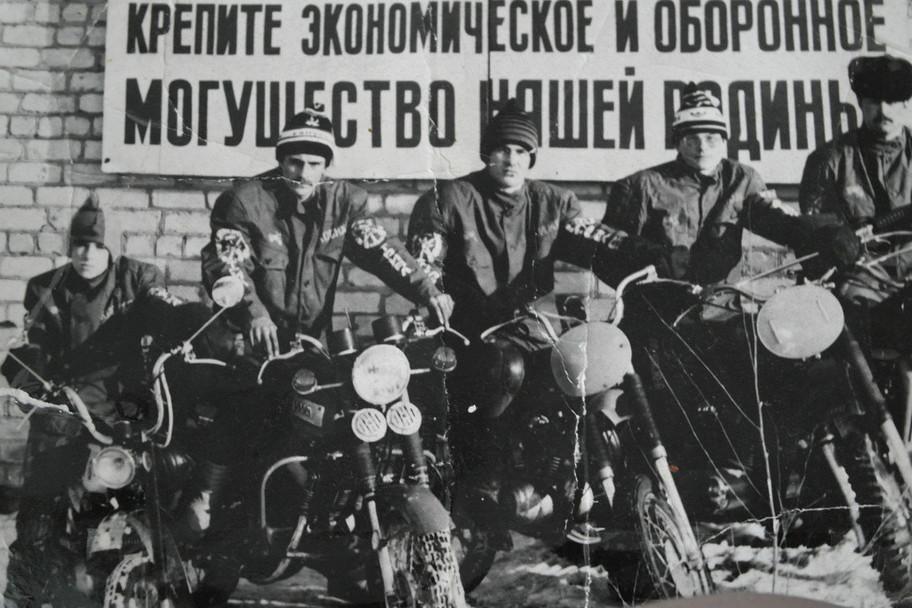 Сборная Косихинского района по триалу