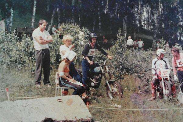 соревнования по мототреалу Косиха 1989г.