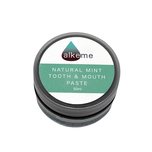 Natural Mint & Clay Toothpaste 50ml