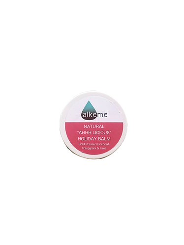 Natural AHHlicious Holiday Balm (solid lotion) 60g