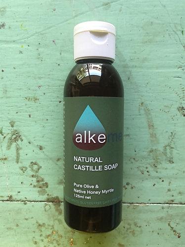 Natural Castille Soap Wash 125ml