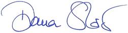 Unterschrift Diana Stöcker