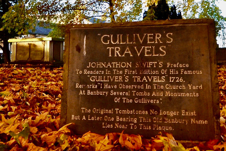 Gulliver's Grave in Banbury