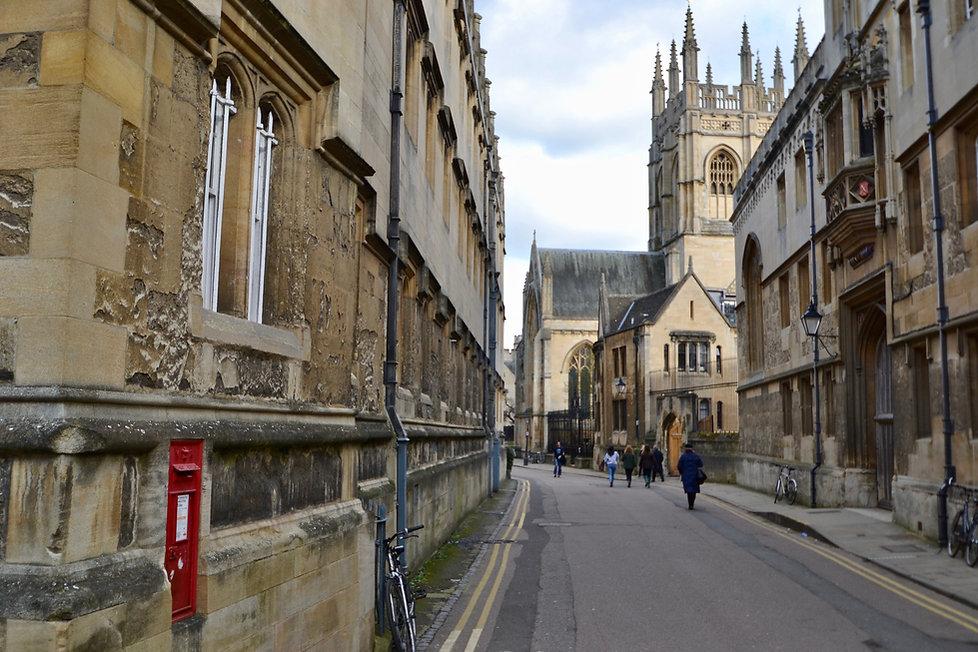 Merton Street in Oxford