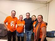 Guus Meeuwis in Sydney, Australia, Dutch TV crew