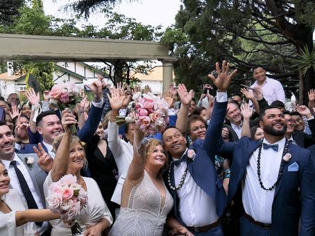 LOVE IS ALL WE NEED // FUN November Wedding