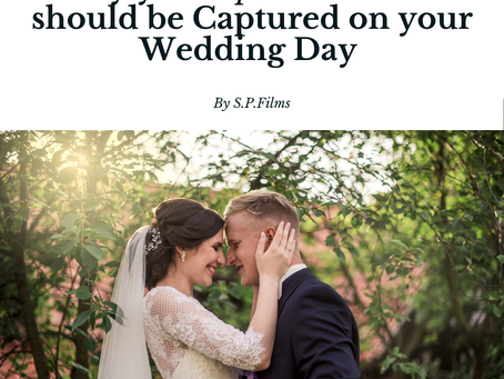 Why your Special Moments should be Captured on your Wedding Day