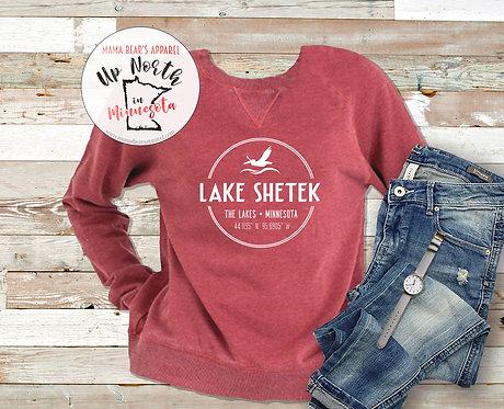 Lake Shetek Vintage Fleece Crewneck Sweatshirt