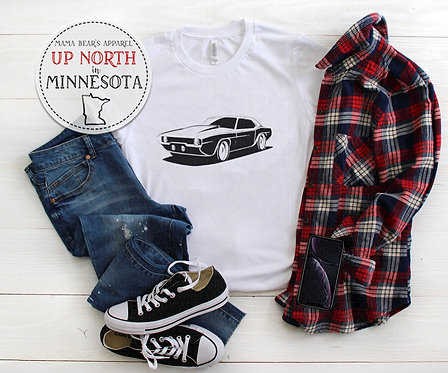 Muscle Car -  Youth Shirt
