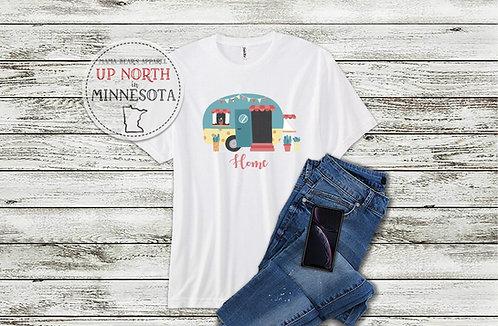 """Retro Camper """"Home"""" Shirt"""