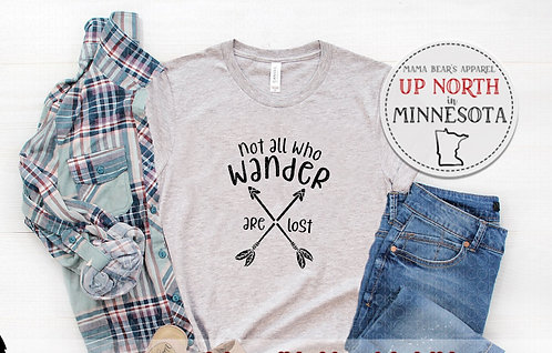 Not All Who Wander Are Lost.  Youth Shirt