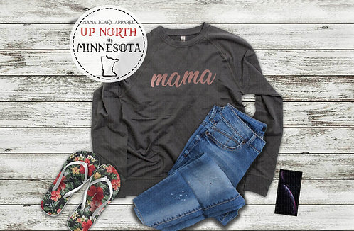 Mama French Terry Lightweight Sweatshirt