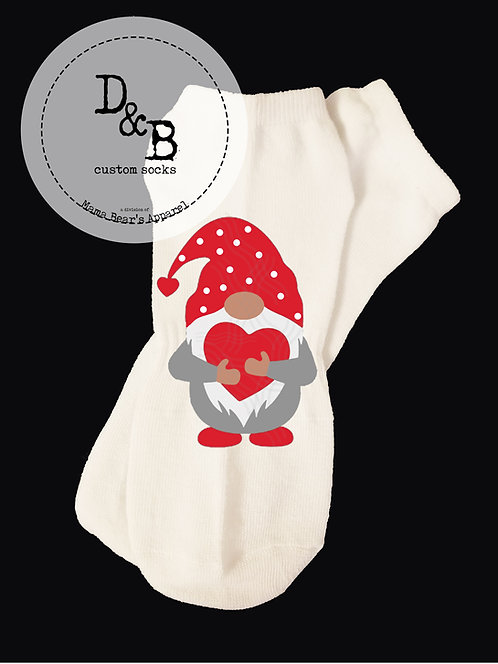 I Give You My Heart Valentine Socks