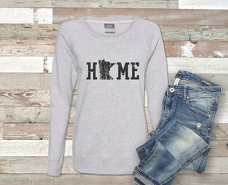 MN Home Women's Fit Sweatshirt