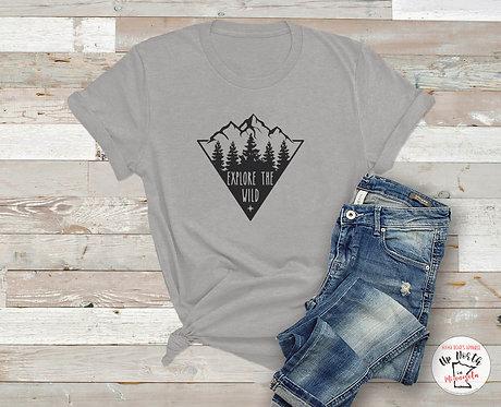 Explore the Wild Mountain Shirt