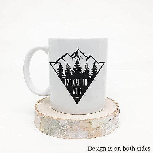 Explore the Wild Coffee Mug