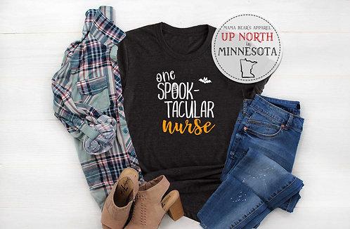 "One ""Spook-Tacular"" Nurse Shirt"