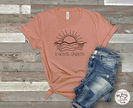 Sunset Chaser T-Shirt - Lake - Summer - Unisex Fit