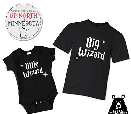 Big Wizard & Little Wizard - Baby Reveal