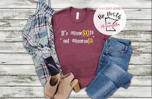 It's MinneSOta not MinnesoTA