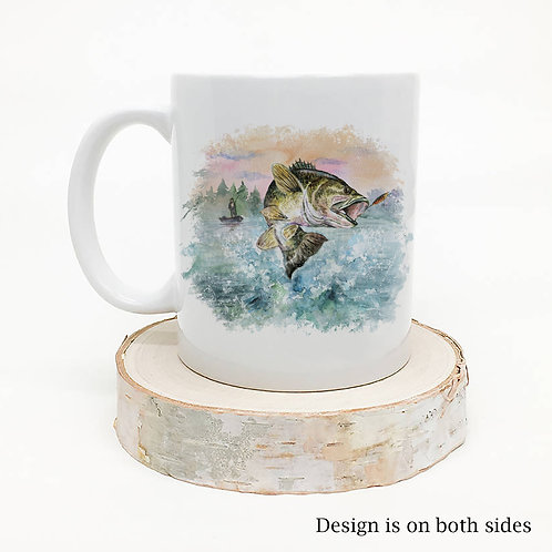 Watercolor Fish Coffee Mug
