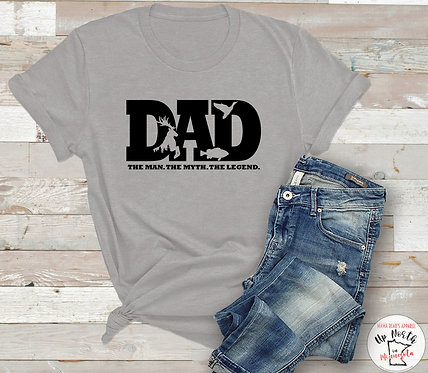 DAD. The Man. The Myth. The Legend. T-Shirt