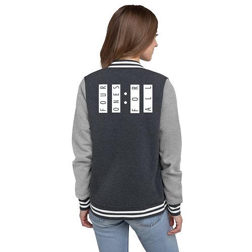 Four Ones Women's Letterman Jacket