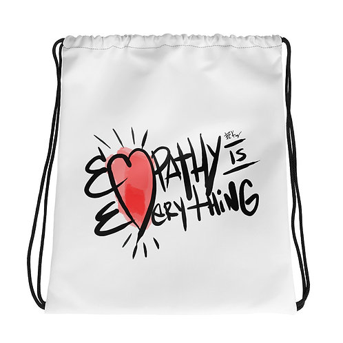 Empathy Drawstring bag