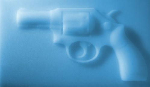 "Sangsik Hong - ""P(i)eace"" (Straws, acrylic, Plexiglas)"