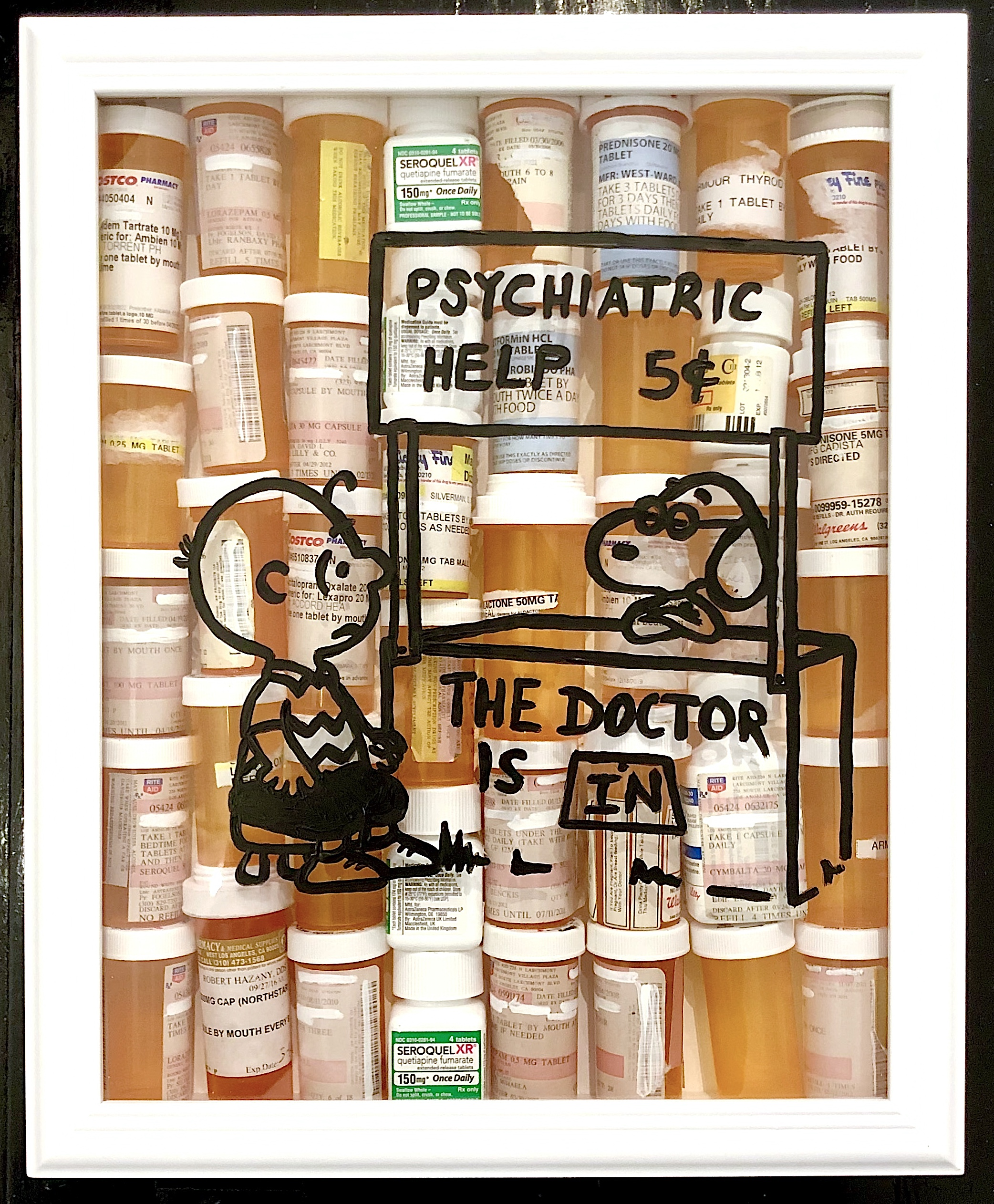 """The Dr Is In, Snoopy"""