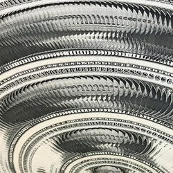 """In a Spin - Dollar 02"" - Detail 3"