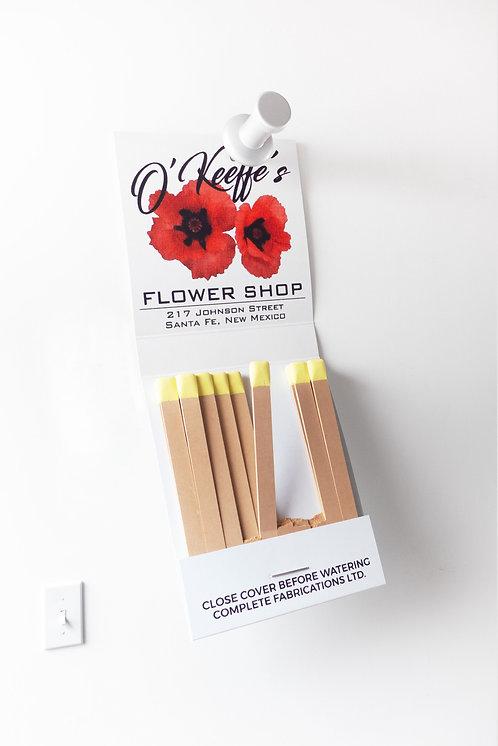 """Miles Jaffe - """"O'Keeffe's Flower Shop"""""""