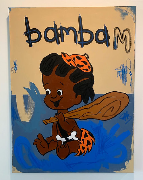 "b. Robert Moore - ""Bam Bam Brown Brown"""