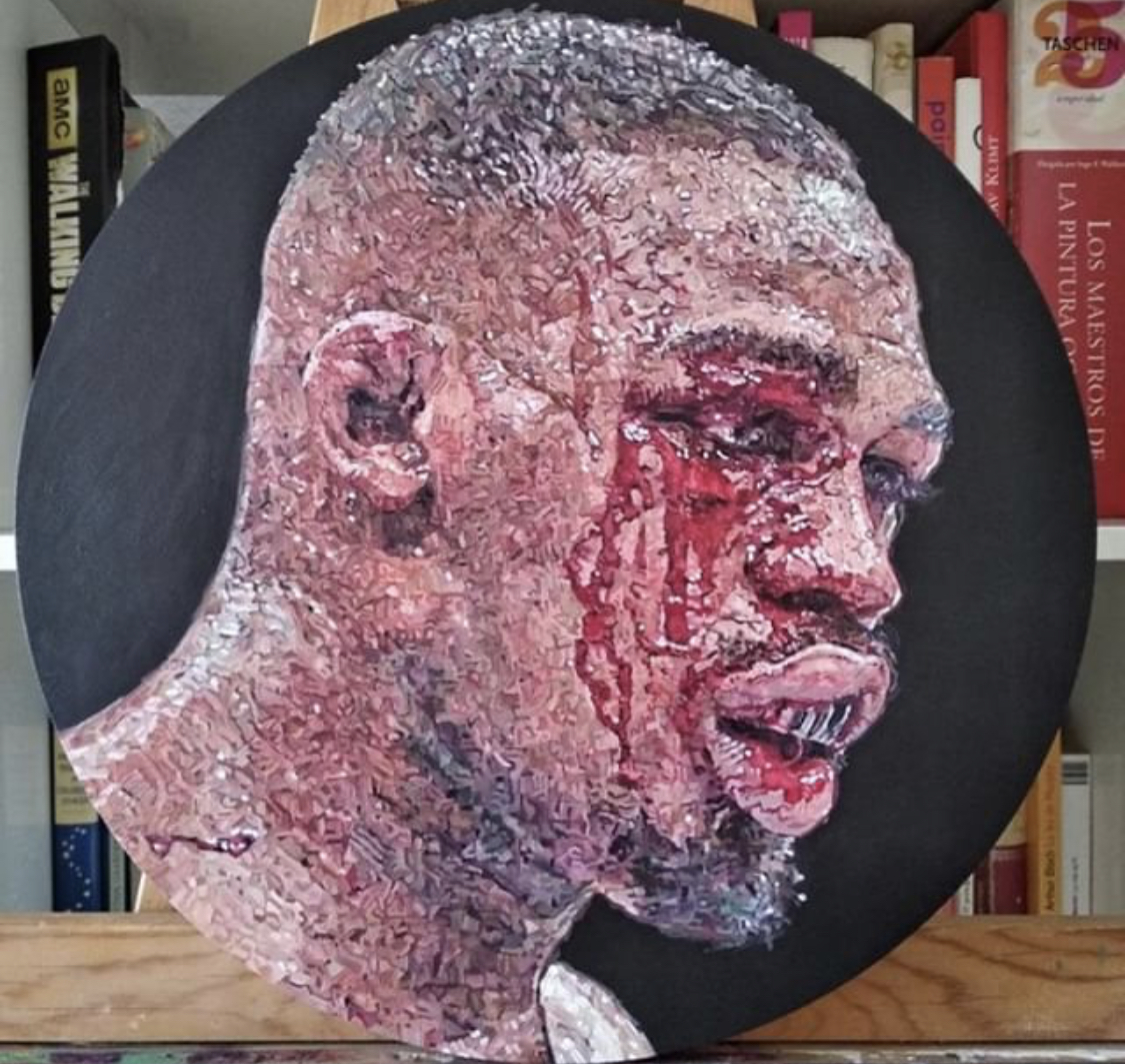 """Self Portrait"" Jon Jones UFC"