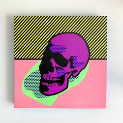 """""""Lichtenstein Style - Warhol's Skull"""""""