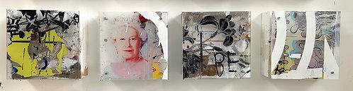 """Greg Watin - """"Row 5"""" (quadtych)"""