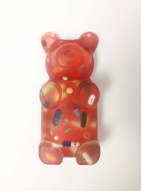 "Sahara Novotna ""Red Pill Gummy Bear"""