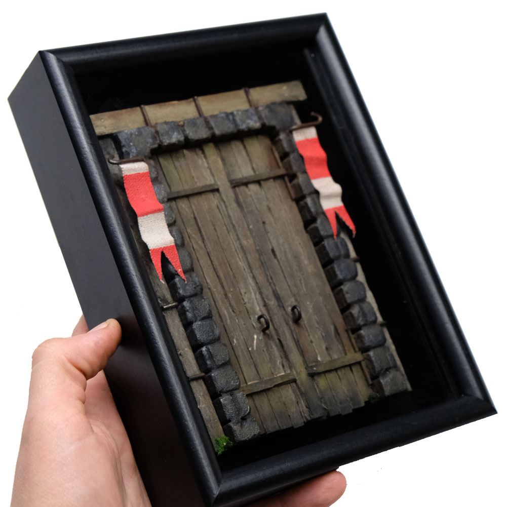 """Bellview Door #105"" Medieval"