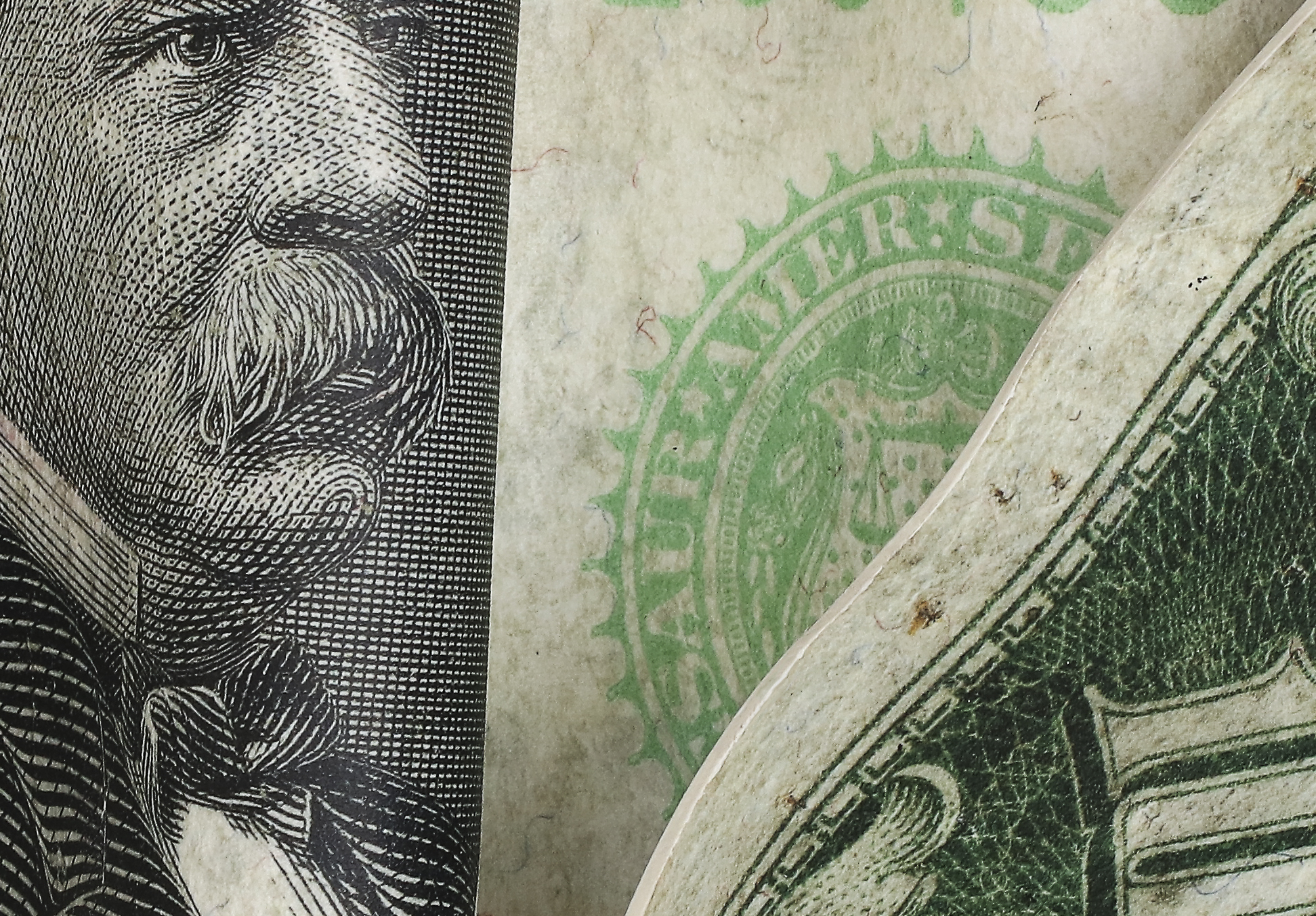 """A Thousand Dollar Bill"" Close up"