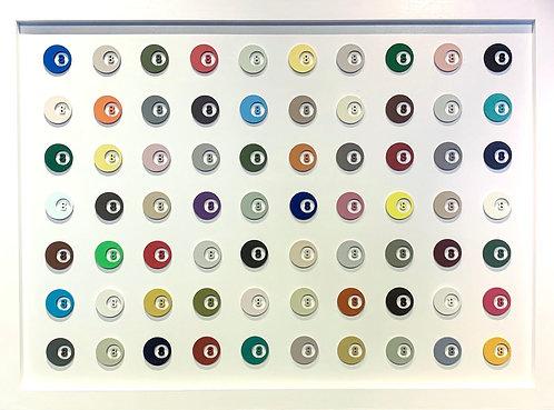 "Ali B - ""8-Ball Spot Painting"""