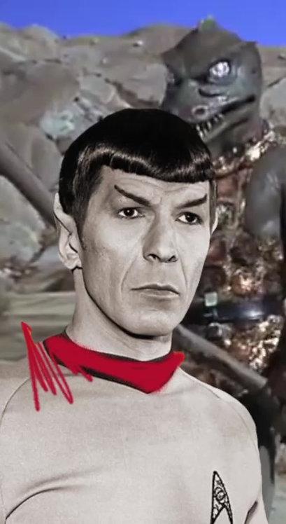 """Revolue - """"Spock"""" 1/1 - NFT ed 2"""