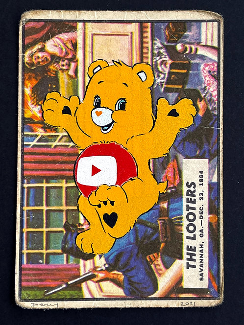 """Penny - """"Care Bear Warfare - The Looters"""" (FRAMED) in black"""
