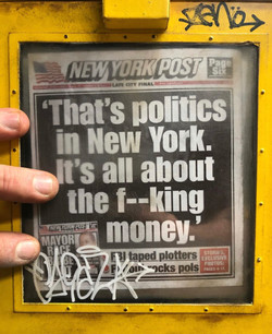 """New York Post"" - CU3"