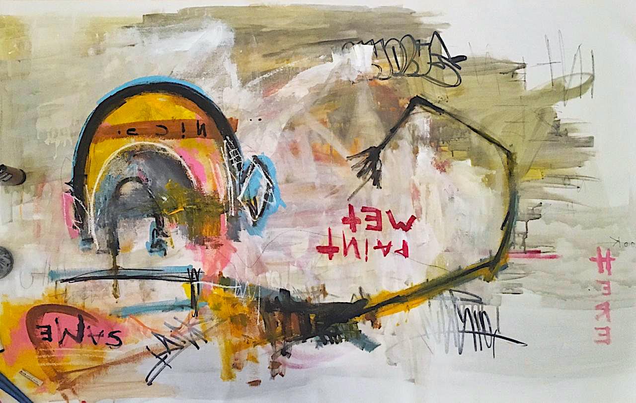 """Wet Paint"" NYC"