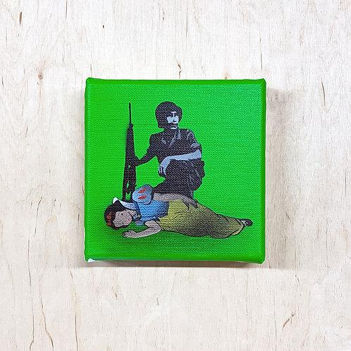 "Kunstrasen - ""Killed Reality The Fairytale Star?"" (green) mini"