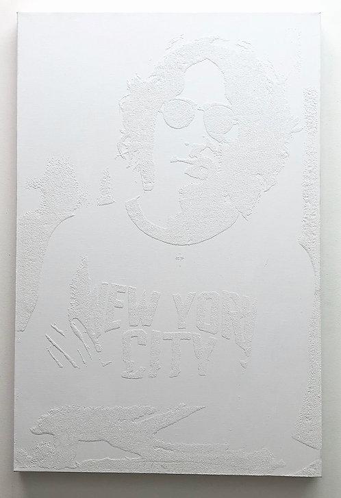 "Plastic Jesus - ""Working Class Hero"" John Lennon NYC"""