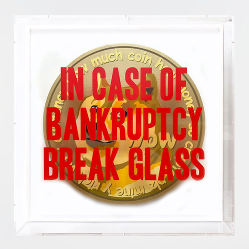 """Thirsty Bstrd - """"In Case of Bankruptcy - Doge to the Moon"""""""
