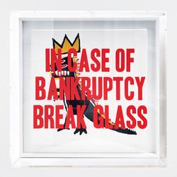 """Bankruptcy - Basquiat Dino"""